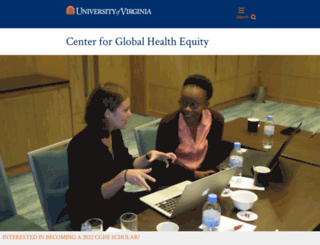 globalhealth.virginia.edu screenshot
