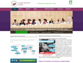 globalhealthsouth.org screenshot