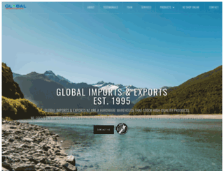 globalimportexport.co.nz screenshot
