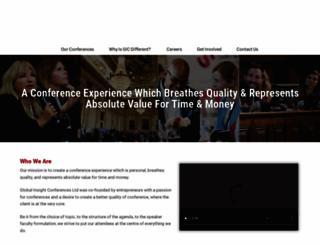 globalinsightconferences.com screenshot