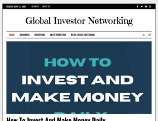 globalinvestornetworking.com screenshot
