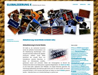 globalisierungx.wordpress.com screenshot
