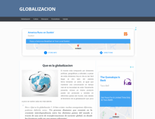 globalizacion.net screenshot