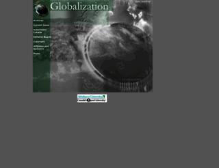 globalization.icaap.org screenshot