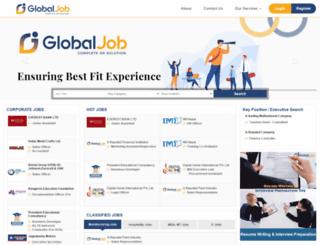 globaljob.com.np screenshot
