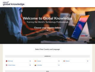 globalknowledge.com screenshot