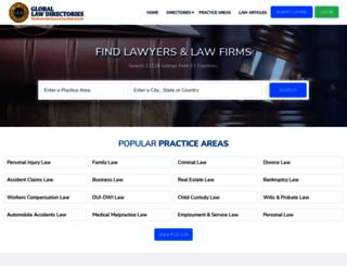 globallawdirectories.com screenshot