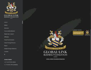 globallinkfoundation.com screenshot