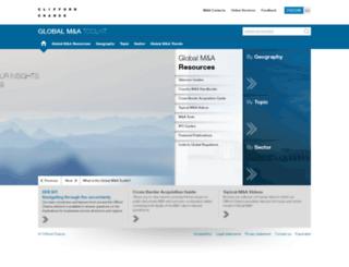 globalmandatoolkit.cliffordchance.com screenshot