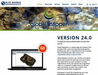 globalmappersoftware.com screenshot