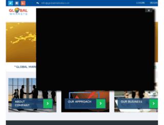globalmarkets.co.in screenshot