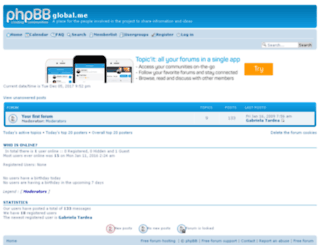 globalme.4rumer.net screenshot