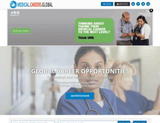 globalmedicalcareers.com screenshot