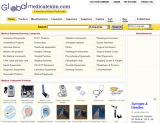 globalmedicalexim.com screenshot