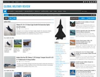 globalmilitaryreview.blogspot.be screenshot