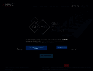 globalmobileawards.com screenshot