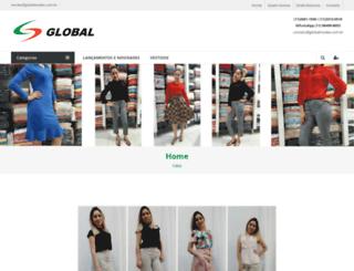 globalmodas.com.br screenshot