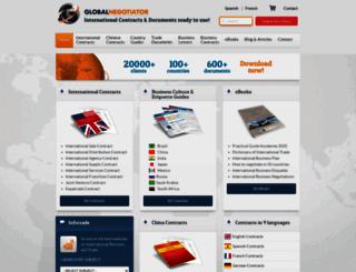 globalnegotiator.com screenshot