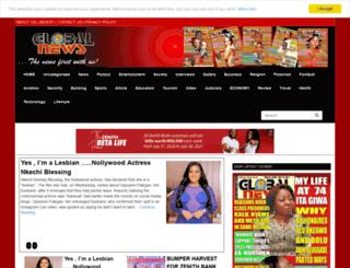 globalnewsnig.com screenshot