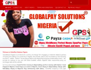 globalpaysol.com screenshot