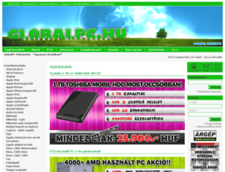 globalpc.hu screenshot