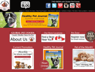 globalpetfoodskw.ca screenshot