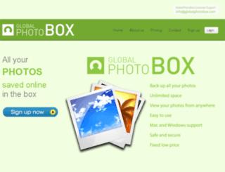 globalphotobox.com screenshot