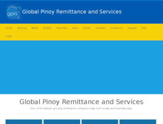 globalpinoyremittance.com screenshot