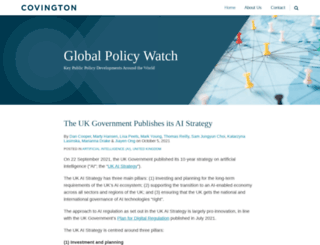 globalpolicywatch.com screenshot