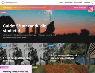 globalportalen.org screenshot