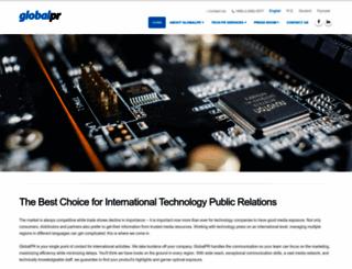 globalpr.com.tw screenshot