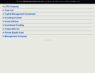 globalproductsgroupcorp.com screenshot