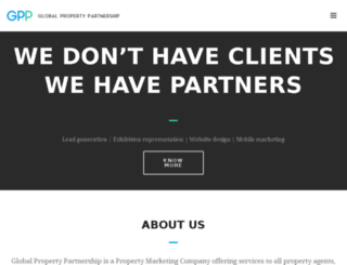 globalpropertypartnership.com screenshot