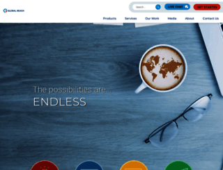 globalreach.com screenshot