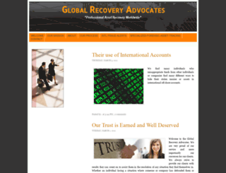 globalrecoveryadvocates.blogspot.com screenshot