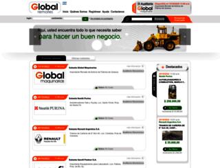 globalremates.com.ar screenshot