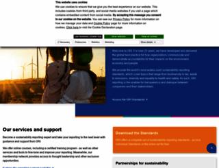 globalreporting.org screenshot