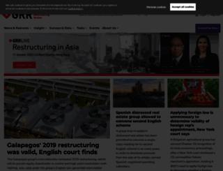globalrestructuringreview.com screenshot