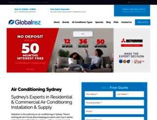 globalrez.com.au screenshot
