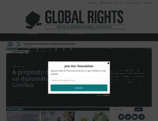 globalrights.info screenshot