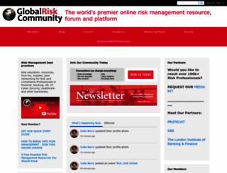 globalriskconsult.ning.com screenshot