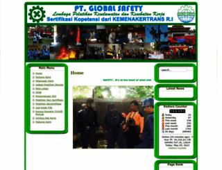 globalsafety.co.id screenshot