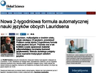 globalsciencereview.pl screenshot