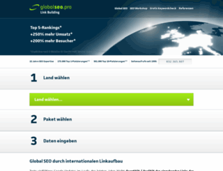globalseo.pro screenshot