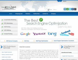 globalseoconsultants.com screenshot
