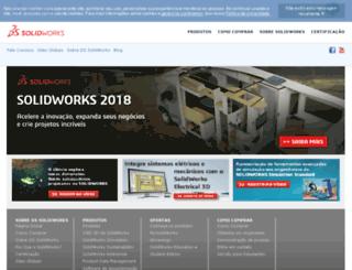 globalsite.solidworks.com screenshot