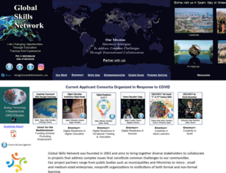 globalskillsnetwork.com screenshot