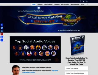 globalsocialmediacoaching.com screenshot