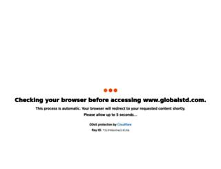 globalstd.com screenshot
