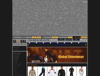 globalstreetwear.co.uk screenshot